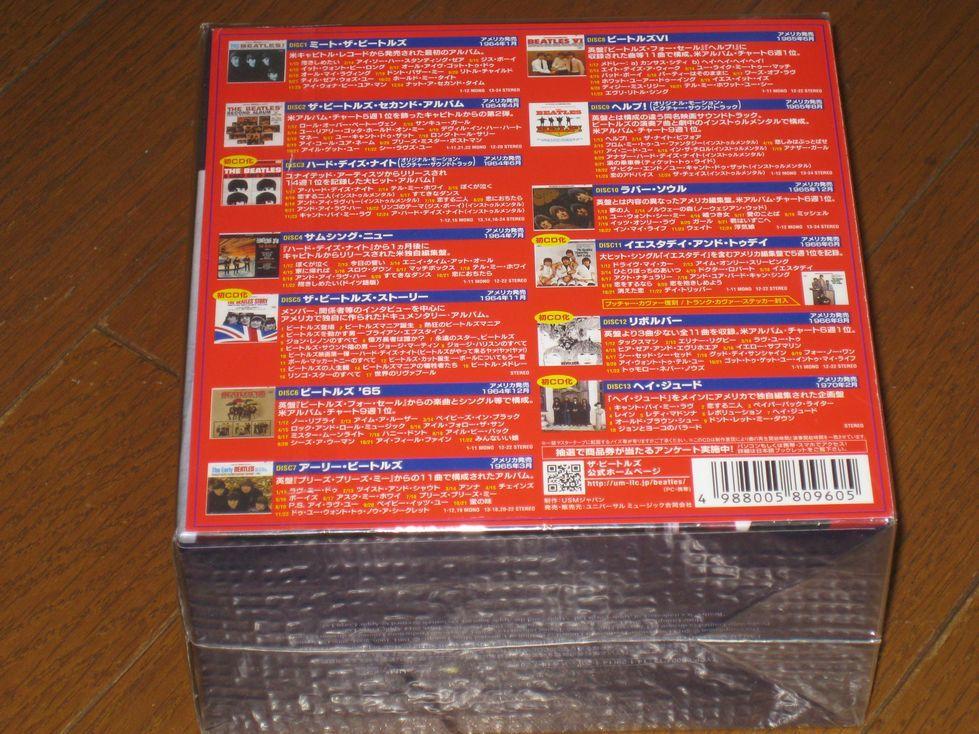 初回生産限定盤!正規国内仕様・Beatles(ビートルズ)・13CD・「ザ ビートルズ・THE U.S.BOX」_画像2
