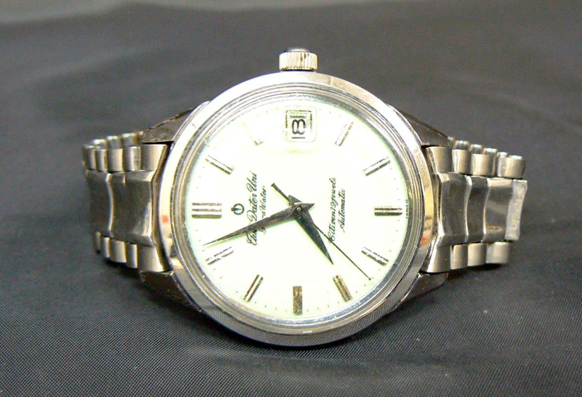 CITIZEN シチズン Auto Dater Uni AU14806 19石 メンズ 腕時計 自動巻 夜光板 ジャンク