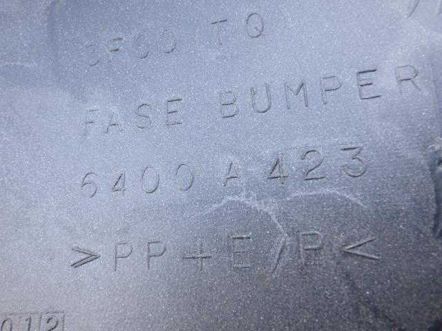 HA1W 前期 i (アイ) 純正フロントバンパー 三菱 白 パール 6400A423_画像8