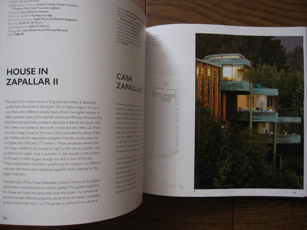 洋書 Enrique Browne : Bringing Nature Back to Architecture /Devolviendo La Naturaleza a la Arquitectura / 現代建築 / 未来建築 共生_画像3