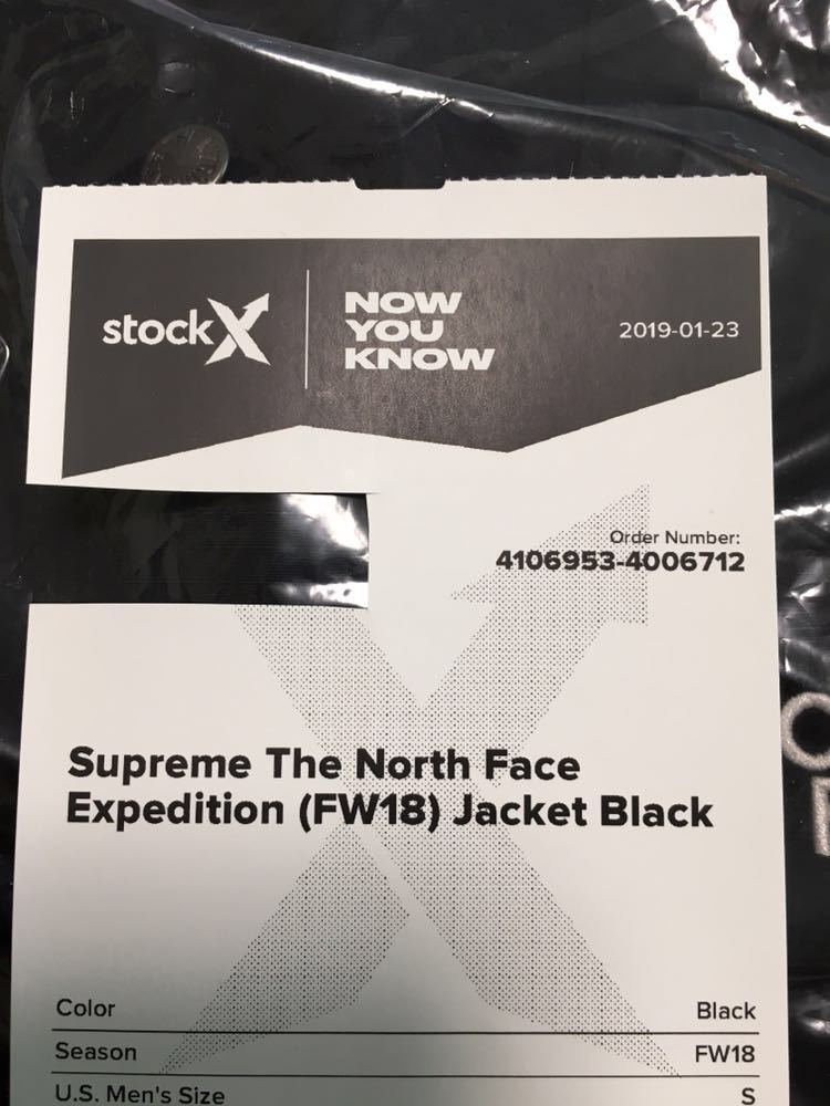 supreme the north face 18aw expedition jacket S 新品未使用 正規品_画像9