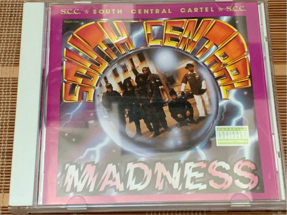 G-RAP■名盤■オリジナル国内盤■SOUTH CENTRAL CARTEL■SOUTH CENTRAL MADNESS