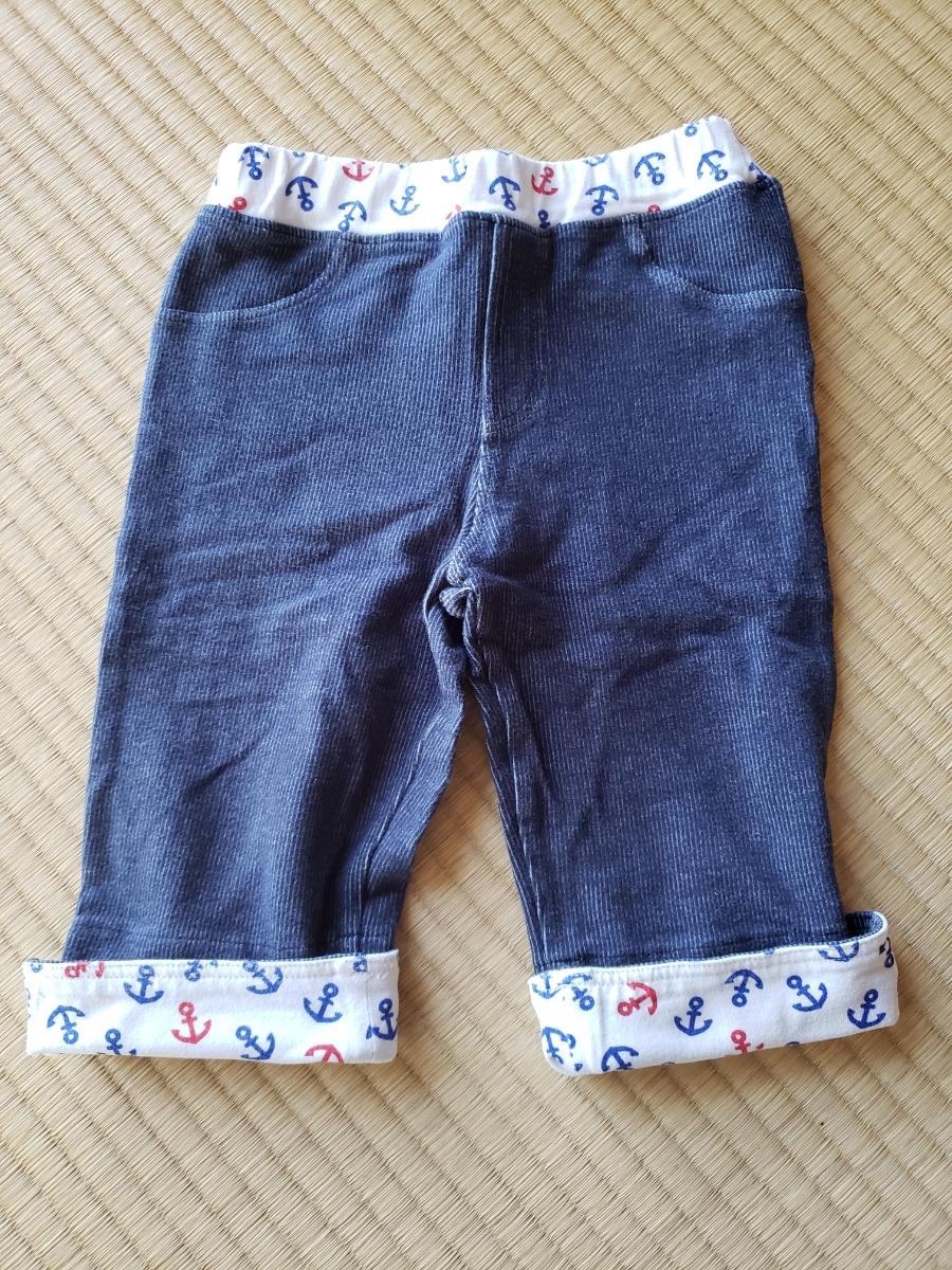ホットビスケッツ☆ミキハウス 半ズボン☆パンツ 120センチ男の子 USED_画像2
