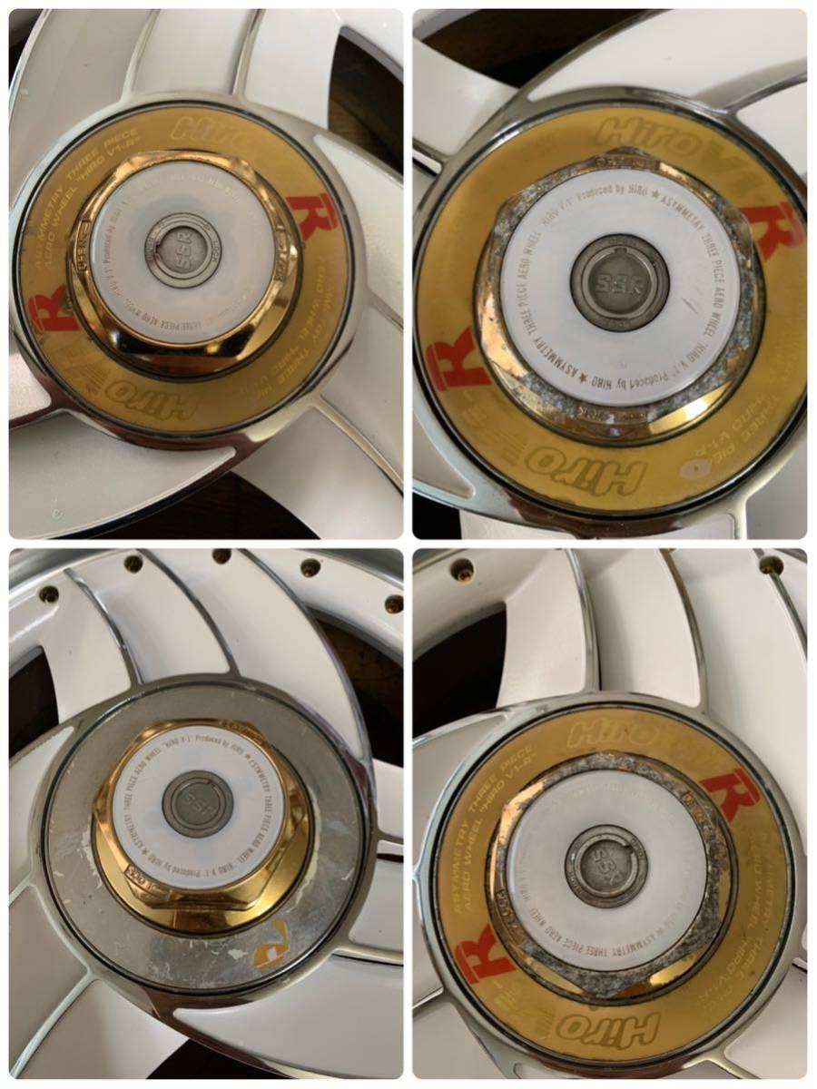 希少 ハイエース 深リム 旧車 SPEED STAR Hiro スピードスター ヒロ 16インチ 6.5J OFF+18 5H114.3 セドリック グロリアセダン_画像7