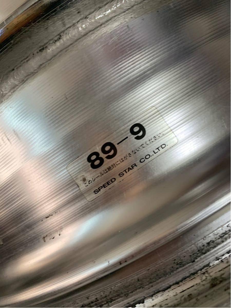 希少 ハイエース 深リム 旧車 SPEED STAR Hiro スピードスター ヒロ 16インチ 6.5J OFF+18 5H114.3 セドリック グロリアセダン_画像9