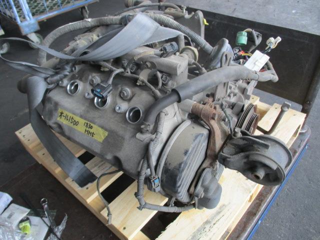 1830189 アクティー HH5 E07Z-E エンジン 過走行_画像1