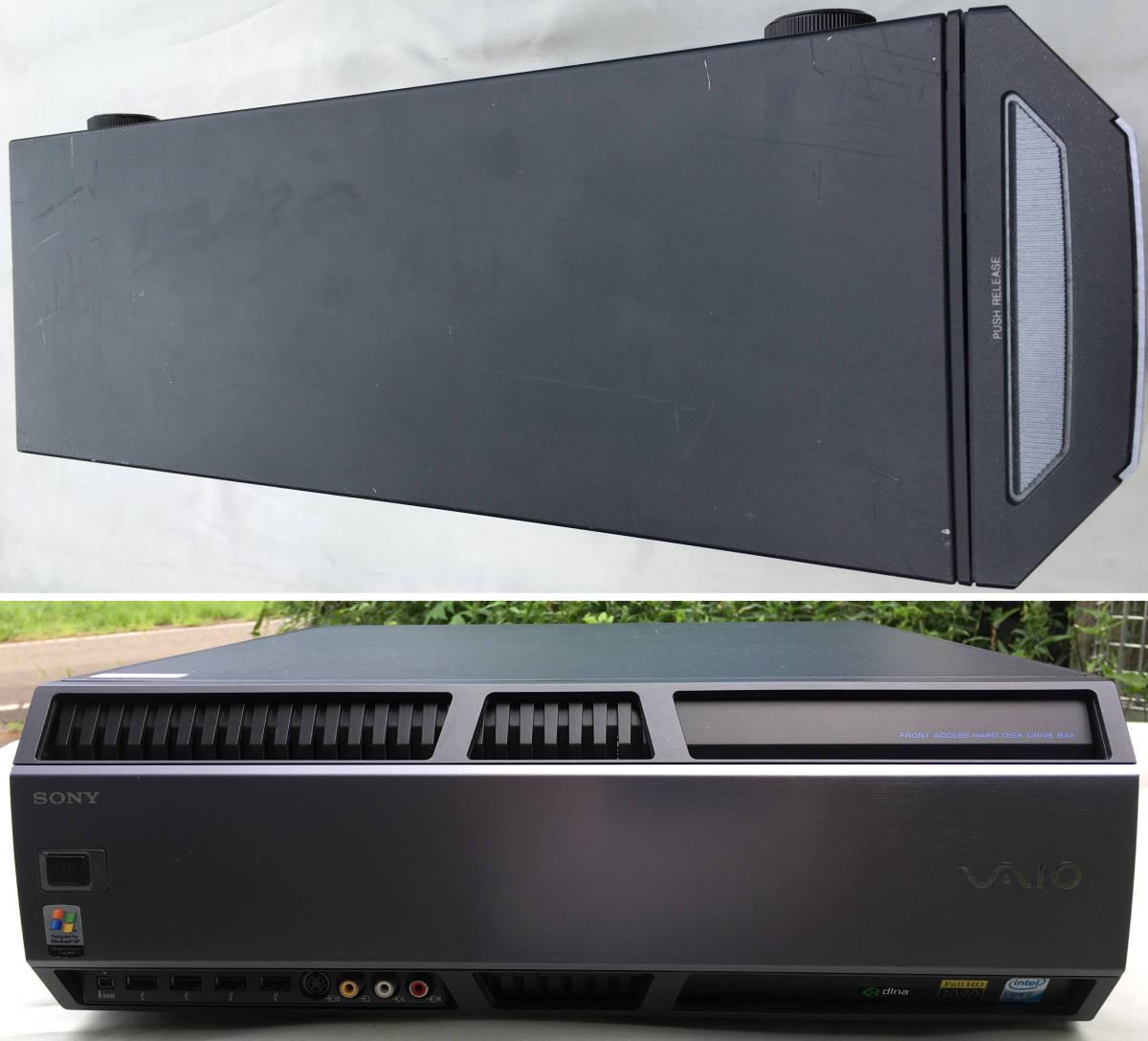 ①SONY VAIO VGC-RM93S(PCV-AB1N) Win10 Pro 64bit Quad Q6600 2.40GHz 8GB 500GB ジャンク扱い 送料無料_画像8