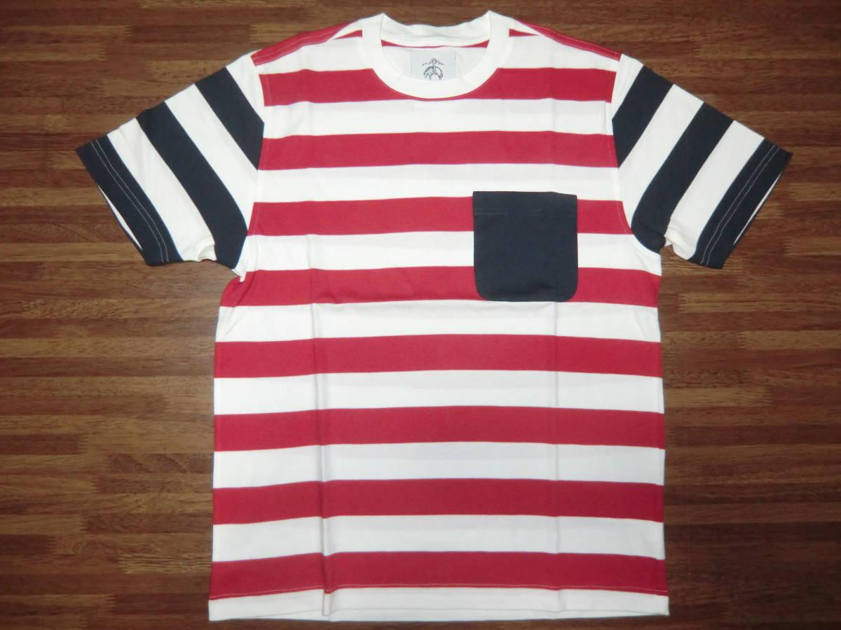 ブラックフリース ボーダーTシャツ BB1 新品 トムブラウン ブルックスブラザーズ