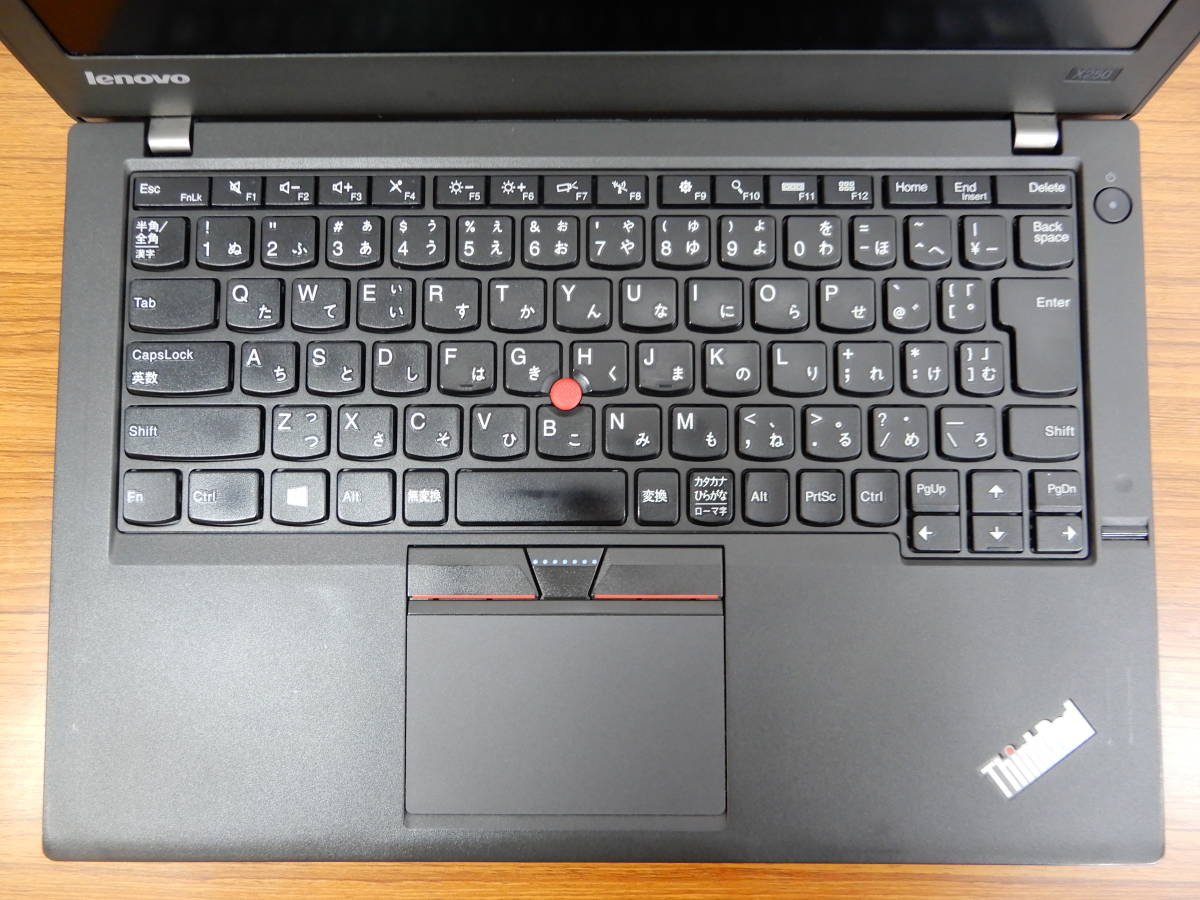 SSD 480GB RAM8.0GB Lenovo ThinkPad X250 Win10/Pro/64bit i5-5200U 2.2GHz 12.5型モバイル _画像3