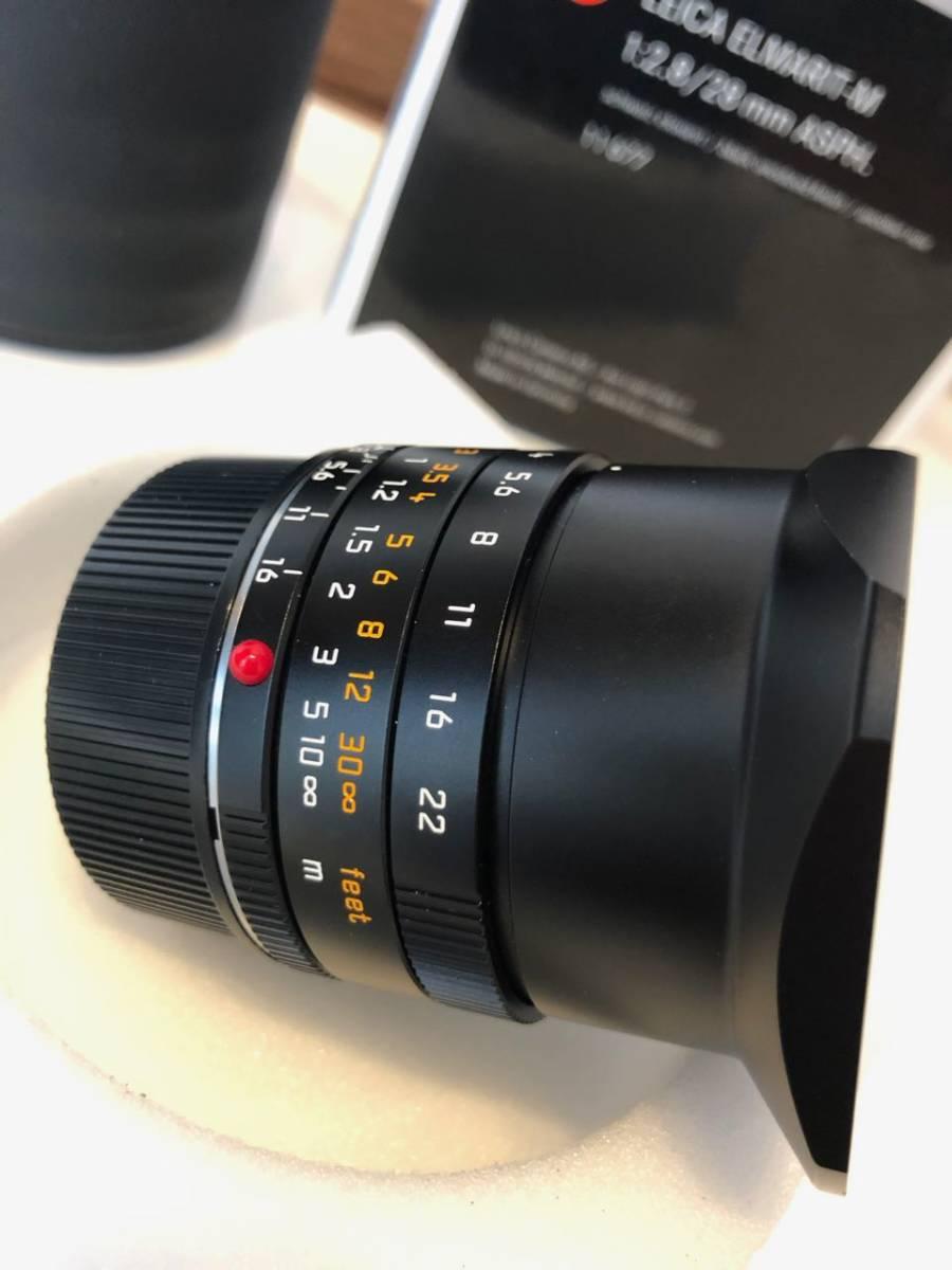 【美品】Leica (ライカ) - ELMARIT(エルマリート) M28mm F2.8 ASPH (6bit)[11606] (フードはめ込み式) レンズ_画像3