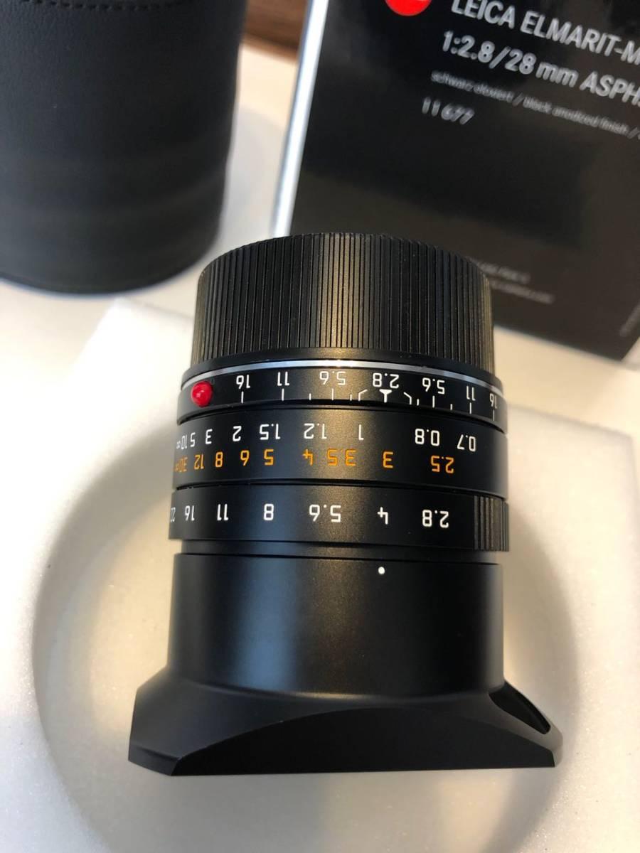【美品】Leica (ライカ) - ELMARIT(エルマリート) M28mm F2.8 ASPH (6bit)[11606] (フードはめ込み式) レンズ_画像7