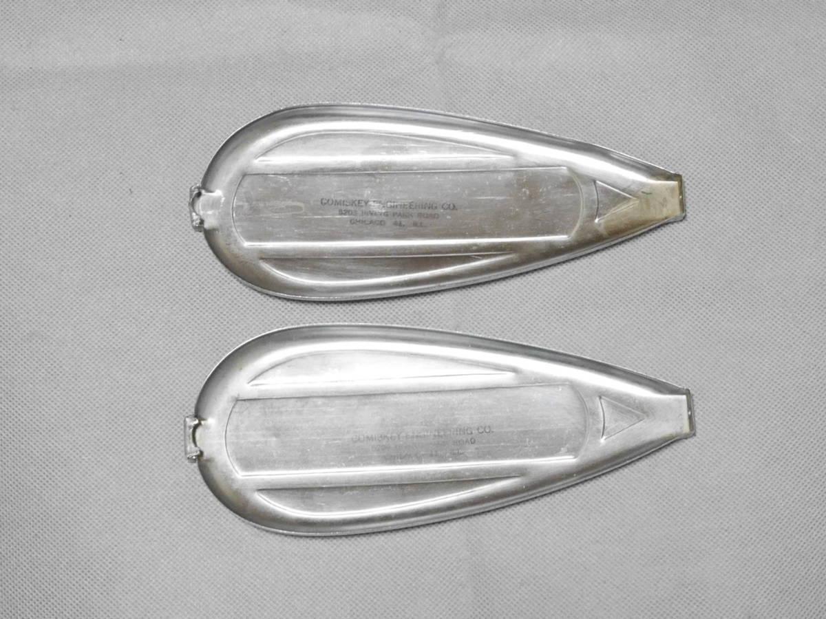 美品 40'S COMISKEY ビンテージ タンクエンブレム コミスキー 純正 オリジナル ハーレー ナックル パン サイドバルブ チョッパー WL EL UL_画像4