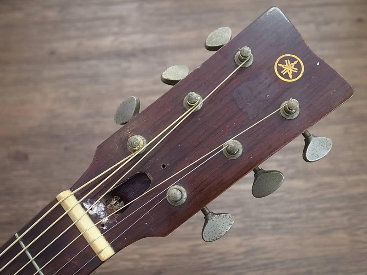 YAMAHA FG-180赤ラベルRED LABEL Japan Vintageヤマハ日本製Made in Japan(検)FG110/130/140/150フォークギター/ アコギ_画像3