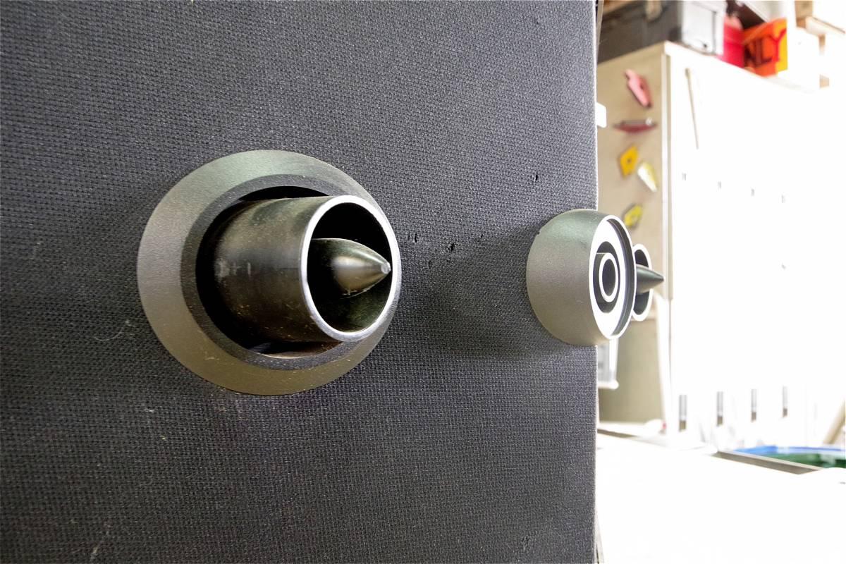 ★中古★ BOSE ボーズ 901 SS SPEAKER スピーカー ペア 音響機器 オーディオ機器 8オーム ビンテージ_画像6