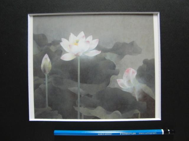 松本 勝 【静】 希少画集画、状態良好、新品高級額装付、送料無料、日本 画家 風景、zero_画像5