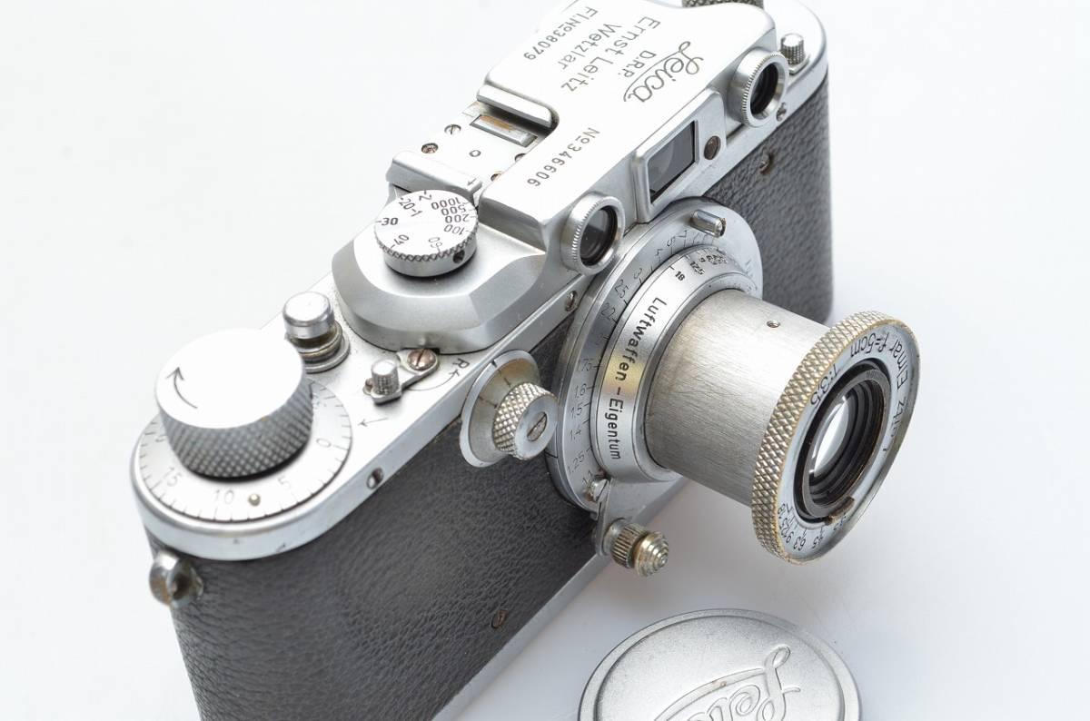 Leica IIIb Luftwaffen-Eigentum 軍用ライカ ライカ3b ルフトワッフェン エルマー50/3.5