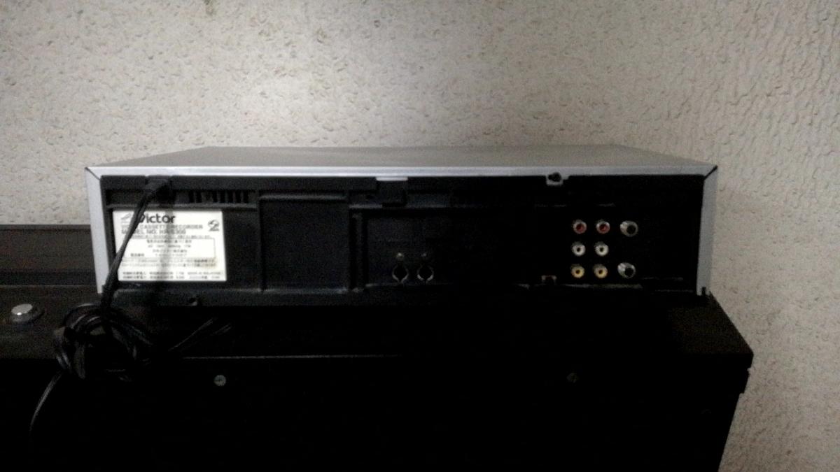 【Victor】ビクター HR-S300 S-VHS ビデオレコーダー ビデオデッキ 動作品 オーディオ関係_画像3
