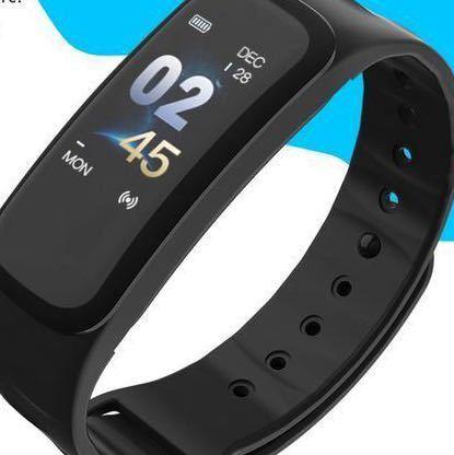 ガーミンやFitbitより安く! 防水!心拍 血圧計 パルスオキシメーター付 黒 スマートウォッチ GARMIN風の高性能 アップルウォッチ_画像3