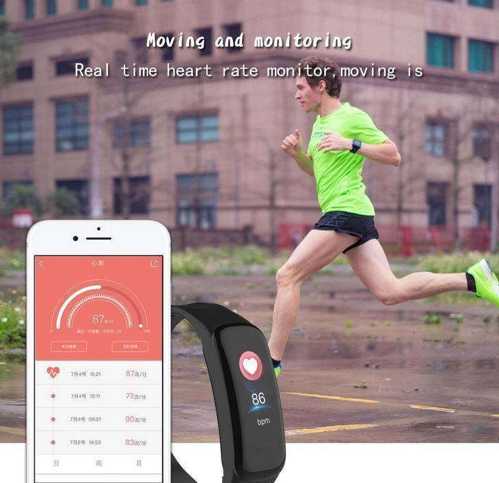 ガーミンやFitbitより安く! 防水!心拍 血圧計 パルスオキシメーター付 黒 スマートウォッチ GARMIN風の高性能 アップルウォッチ_画像2