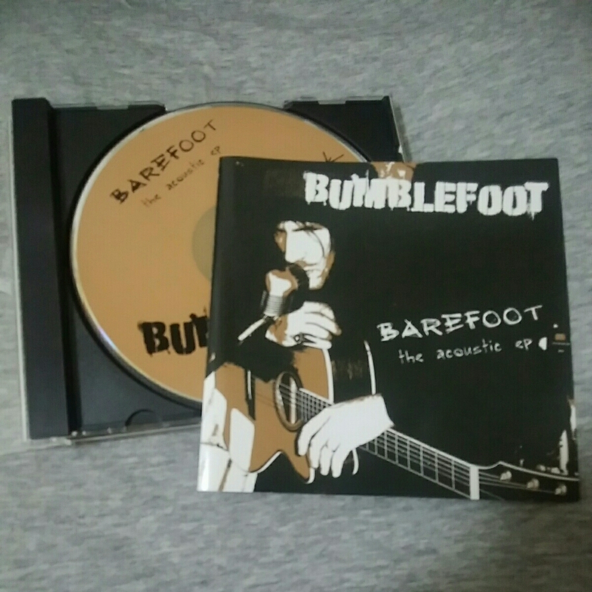 BUMBLEFOOT ロン・サール RON THAL BAREFOOT the acoustic ep_画像1