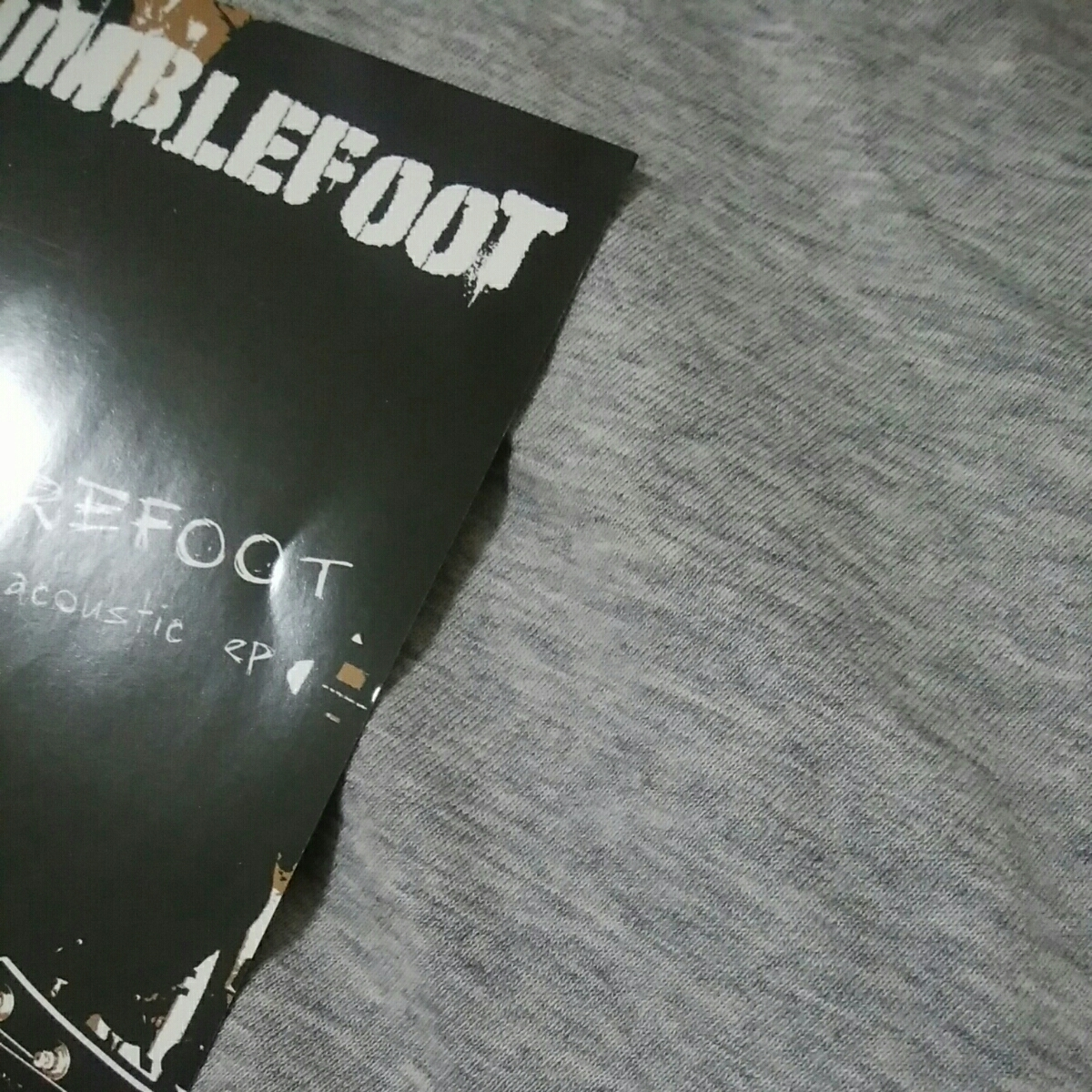 BUMBLEFOOT ロン・サール RON THAL BAREFOOT the acoustic ep_画像2