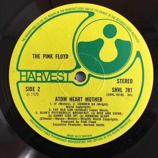 【UK org.】 Pink Floyd / Atom herat Mother【A1G/B1G】グラモ・リム_画像8