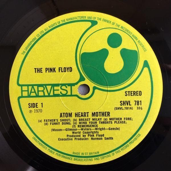 【UK org.】 Pink Floyd / Atom herat Mother【A1G/B1G】グラモ・リム_画像7