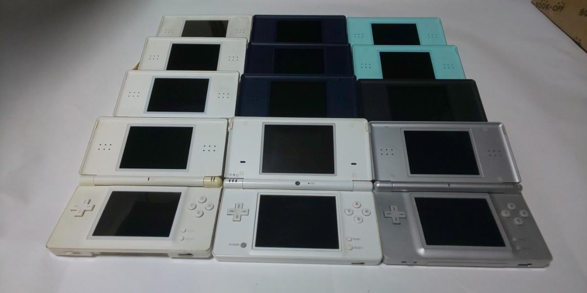 ジャンク ニンテンドーDS Lite 11台、DSi 1台 セット_画像2