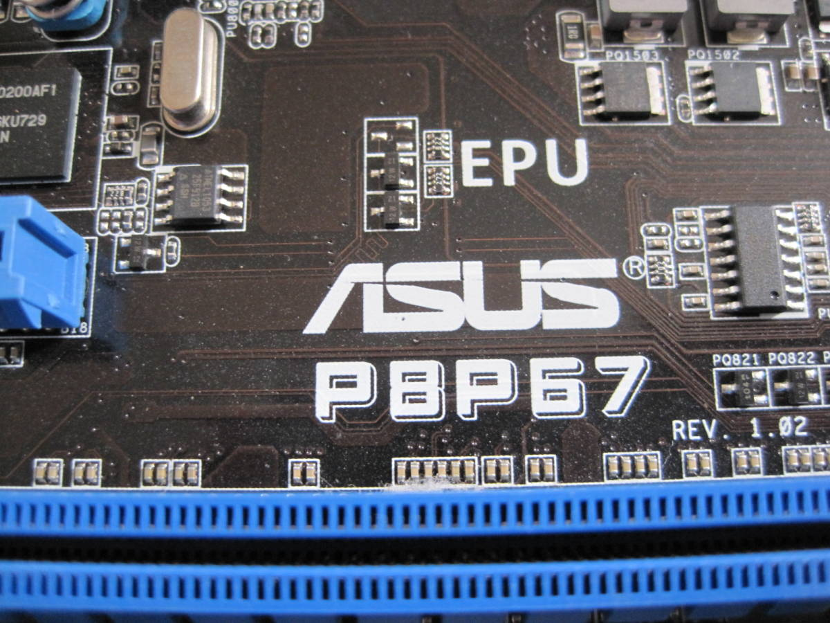 ASUS P8P67 REV1.02 ATX IntelP67 LGA1155 中古_画像2