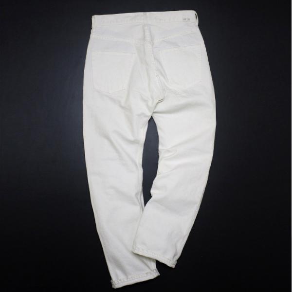 新品 定価4.8万 NEXUS7 ネクサスセブン MAD MAXX Repaired White Denim Pants 限定 ビンテージ 加工 デニム !! soph 藤原ヒロシ 刺し子_画像7