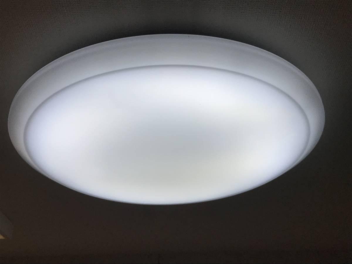 【送料無料1円~】美品 LEDシーリングライト 天井照明 パナソニック HH-LC869A リモコン付~14畳 A820-3_画像7