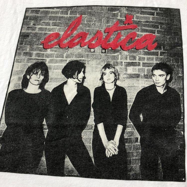 90s ELASTICA Tシャツ L USA製 ビンテージ 90年代 エラスティカ アメリカ製 オリジナル ヴィンテージ ブリットポップ ロック バンド バンT_画像7