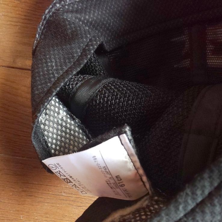 日ハム 日本ハム ファイターズ 支給 実使用 試合用 キャップ スポンサーワッペン付き サイズは貴重な61センチ_画像5