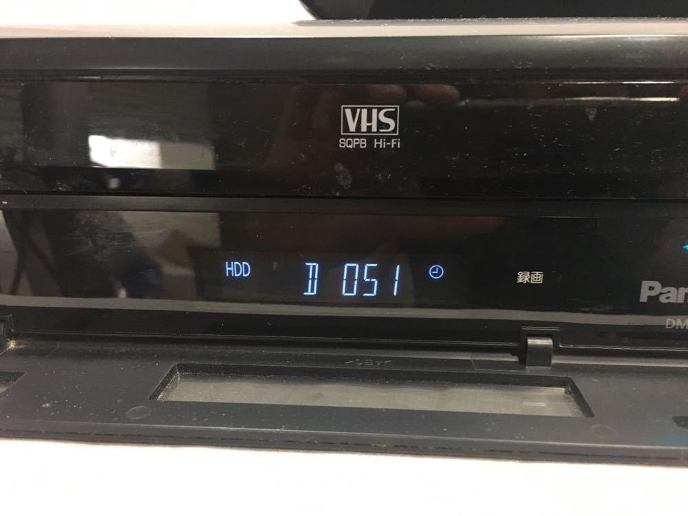 【1円スタート】Panasonic HDD搭載VHS一体型ハイビジョンブルーレイディスクレコーダー DMR-BR670V 生産終了モデル ☆送料無料☆_画像5