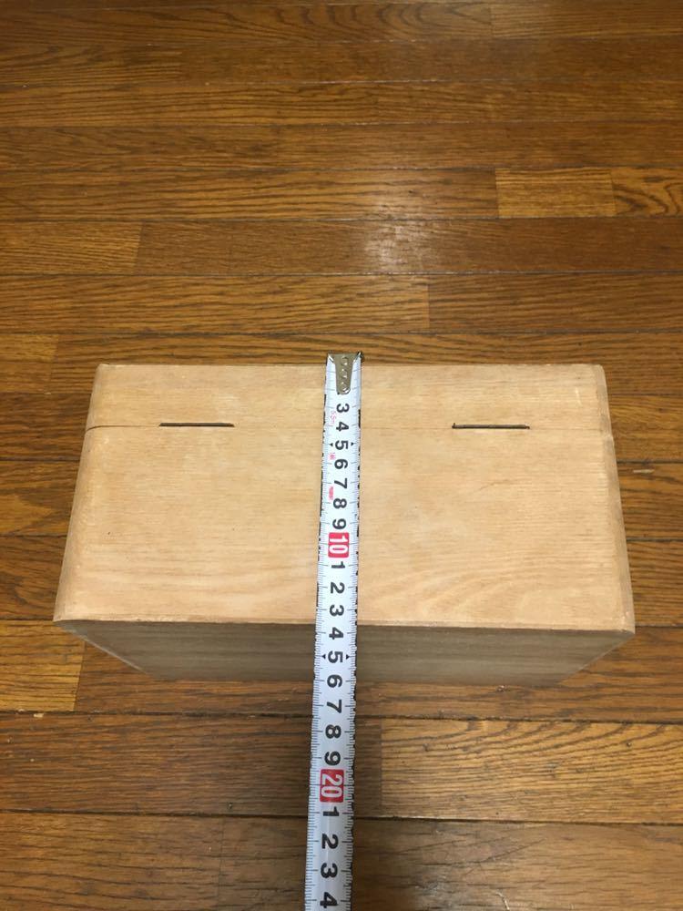 昭和レトロ、木製 救急箱_画像4