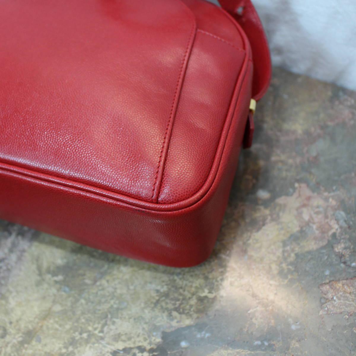Lanvin LOGO LEATHER SHOULDER BAG MADE IN FRANCE/ランバンロゴレザーショルダーバッグ_画像7