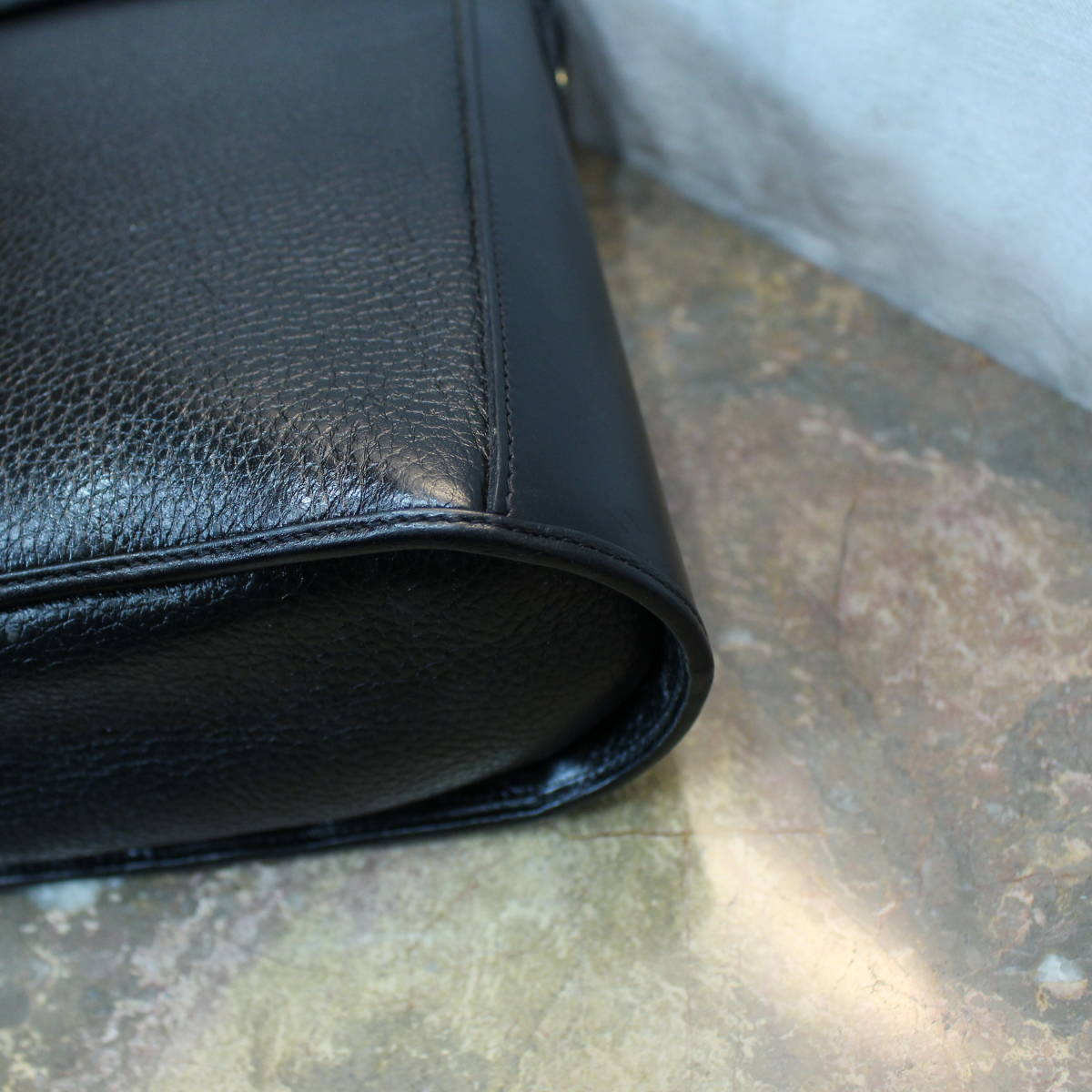 Christian Dior LEATHER SHOULDER BAG MADE IN FRANCE/クリスチャンディオールレザーショルダーバッグ_画像6