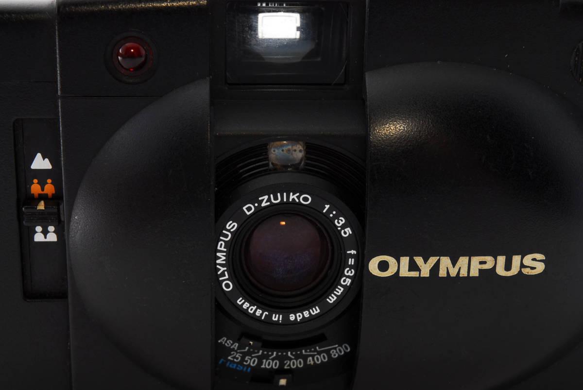 即決★Olympus オリンパス XA2 35mm Point&Shoot Camera D.Zuiko 35mm f/3.5 A11 Flash用 カメラ A1684_画像5