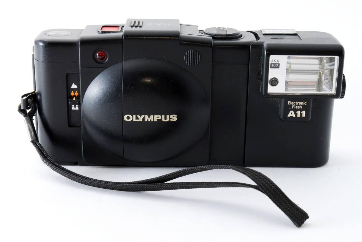 即決★Olympus オリンパス XA2 35mm Point&Shoot Camera D.Zuiko 35mm f/3.5 A11 Flash用 カメラ A1684