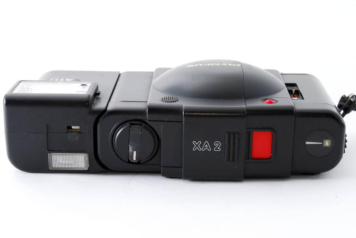 即決★Olympus オリンパス XA2 35mm Point&Shoot Camera D.Zuiko 35mm f/3.5 A11 Flash用 カメラ A1684_画像6
