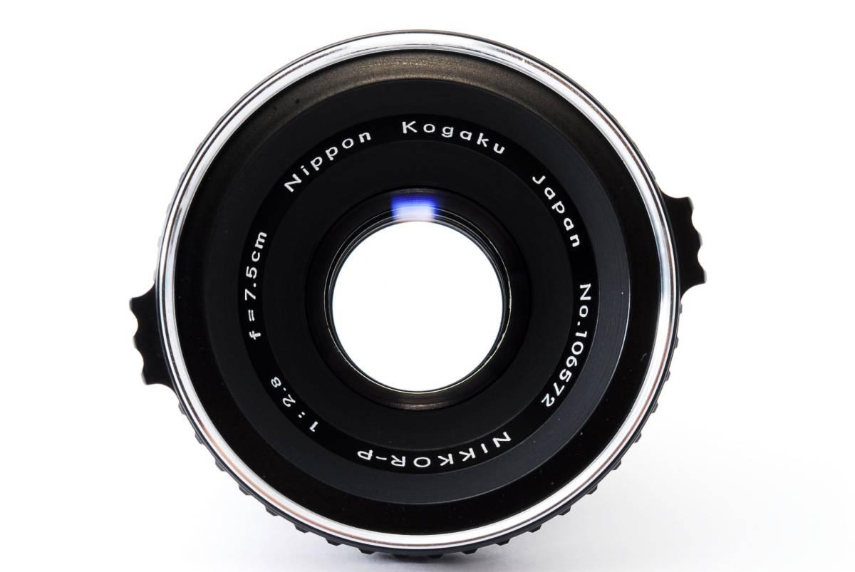 Zenza Bronica ゼンザブロニカ Nikkor-P 75mm f/2.8 for S2 EC 中判カメラ レンズ 中古品 482015_画像2