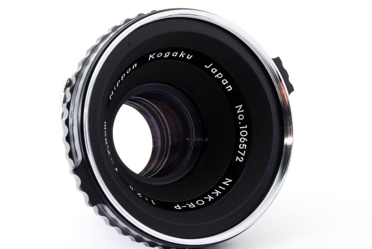 Zenza Bronica ゼンザブロニカ Nikkor-P 75mm f/2.8 for S2 EC 中判カメラ レンズ 中古品 482015_画像3