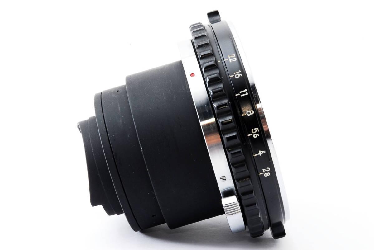 Zenza Bronica ゼンザブロニカ Nikkor-P 75mm f/2.8 for S2 EC 中判カメラ レンズ 中古品 482015_画像8