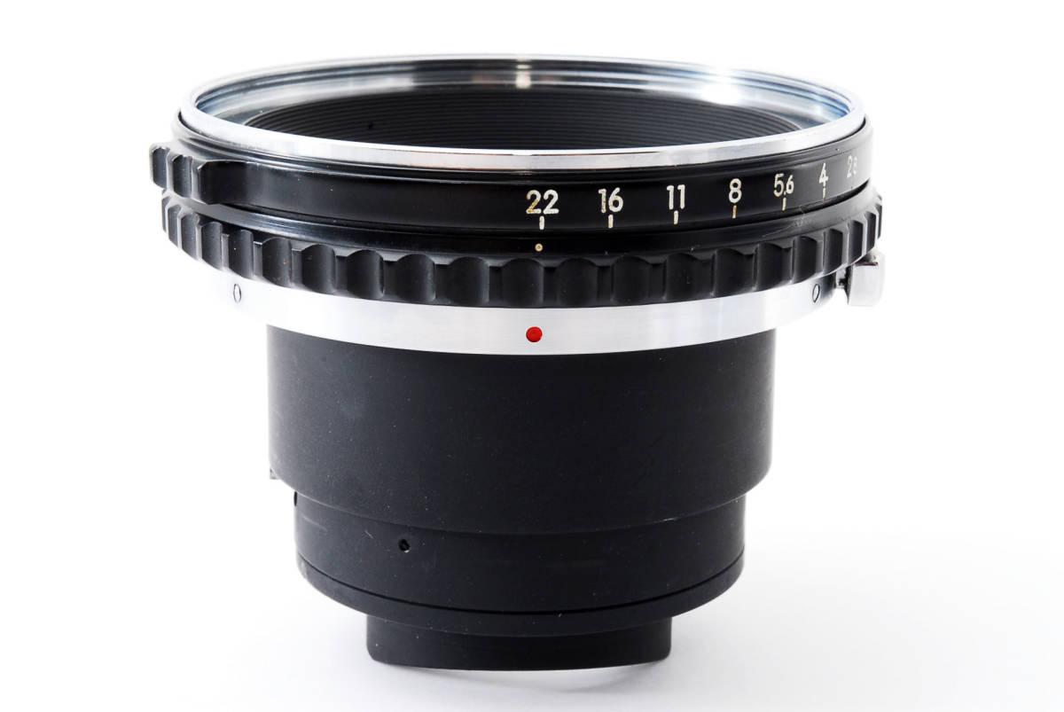 Zenza Bronica ゼンザブロニカ Nikkor-P 75mm f/2.8 for S2 EC 中判カメラ レンズ 中古品 482015_画像9