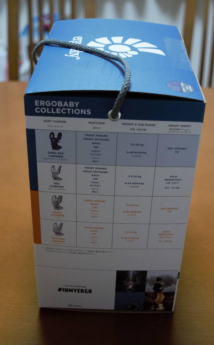 新品未使用 日本正規代理店品 エルゴベビー オムニ360 クールエアメッシュ/ミッドナイトブルー Ergobaby OMNI 360 _画像5