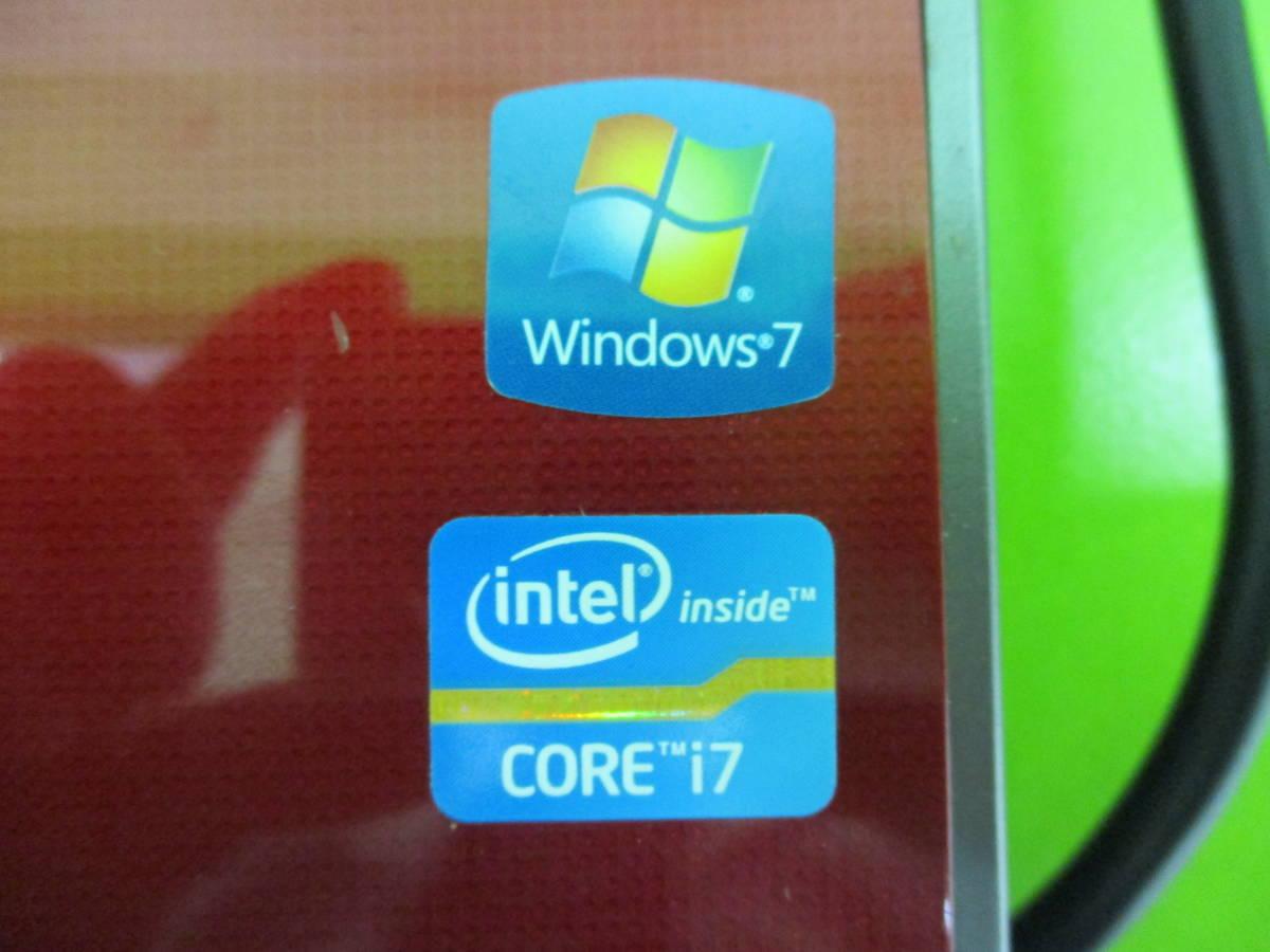 【y7333】最安値!!★NEC★大画面 ノートPC LaVie LL750/F26R レッドカラー_画像9