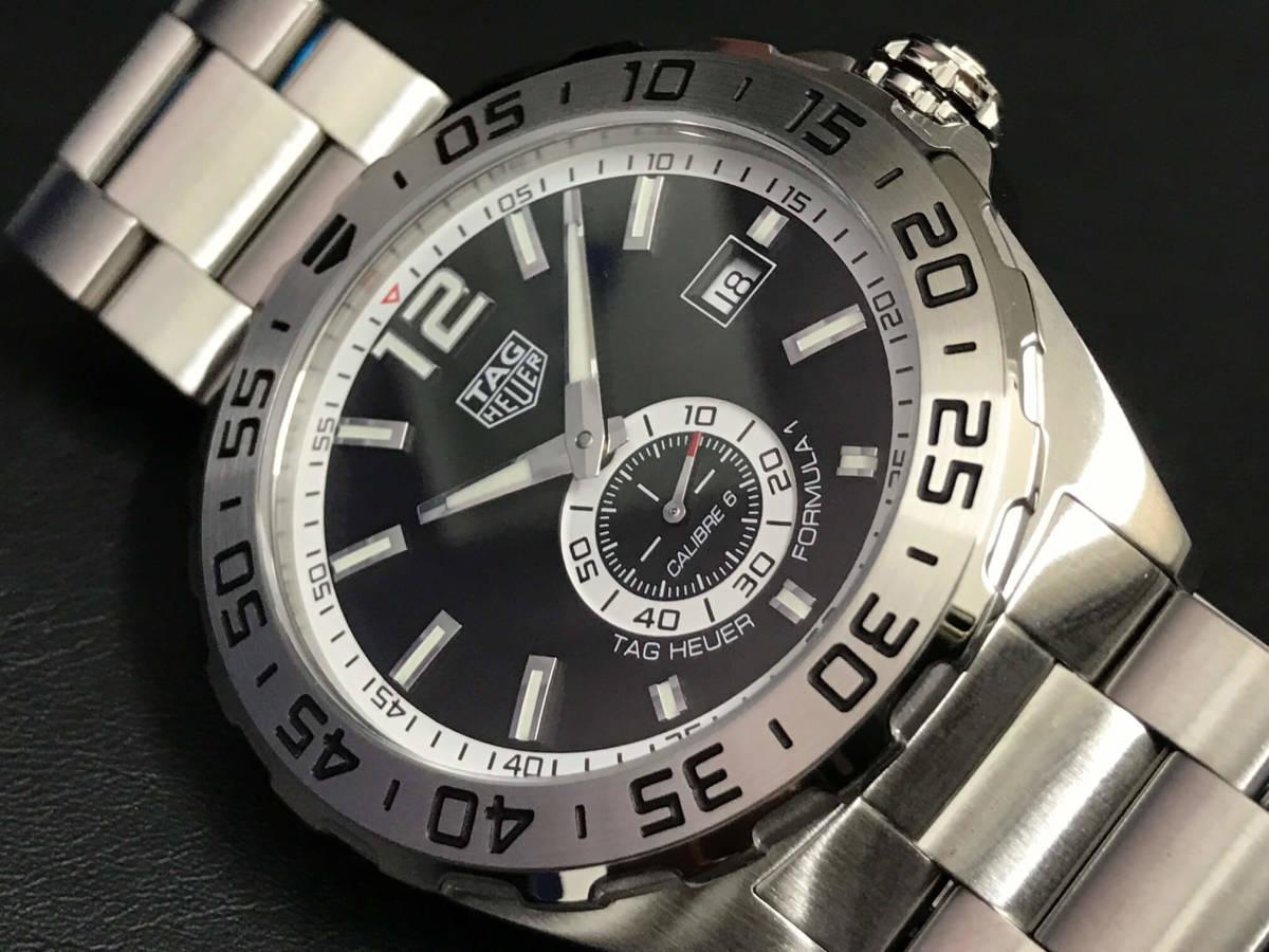 新品 未使用品 TAG Heuer タグ・ホイヤー メンズ腕時計 フォーミュラ1 WAZ2012.BA0842 カメラのキタムラで2019年6月に購入 定価199,800_画像2