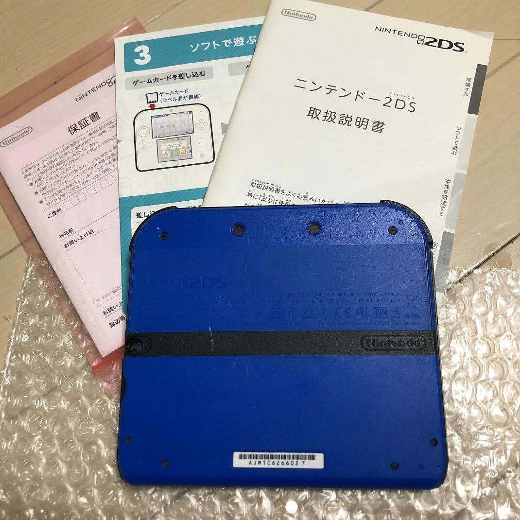 Nintendo 2DS ブルー _画像3