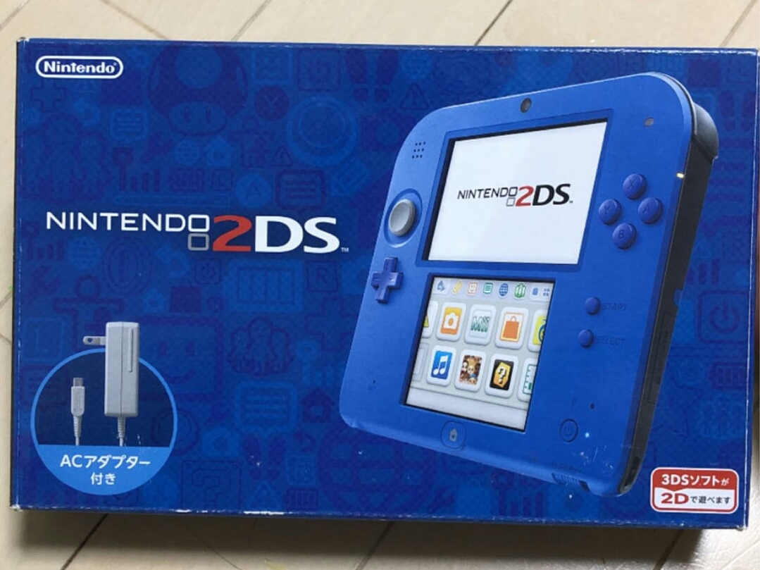 Nintendo 2DS ブルー