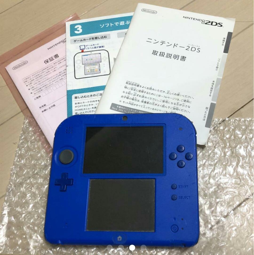 Nintendo 2DS ブルー _画像2